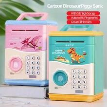 Кодовая Электронная Копилка, мини Банкомат, монета, копилка для денег, коробка для детей, отличный подарок, игрушки для детей, игрушка, автоматическое открытие отпечатков пальцев