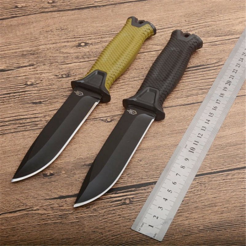 G1500 HOT Fixed Tactical Titanium Coating Steel 12C27 Blade Tactical Knife Survivor Infantry Military Fixed Blade Knife Hot