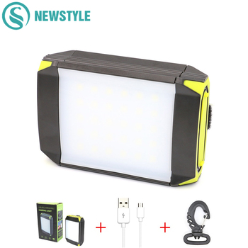 30 LED Camping Lantern Light Flasher Mobile Power Bank Flashlight USB Port Camping Tent Light Outdoor Portable Hanging Lamp