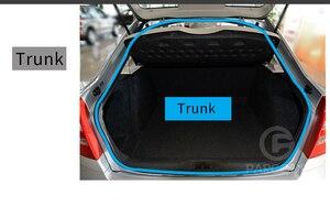 Image 3 - 1メートル車のシールストリップ衝突防止自動車ゴム防塵ノイズ絶縁機械エンジンとトランクトップ泡sealstrip