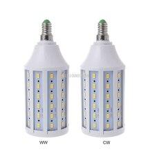 E14 светодиодный энергосберегающий светильник 20W AC 220V Теплый/холодный белый светильник кукурузная лампа 5730 SMD для украшения дома 448A