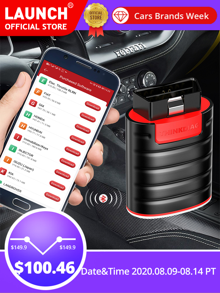 Think Diag Scanner Diagnostic-Tool Code-Reader X431 All-System Golo Ap200 Obdii 15-Reset