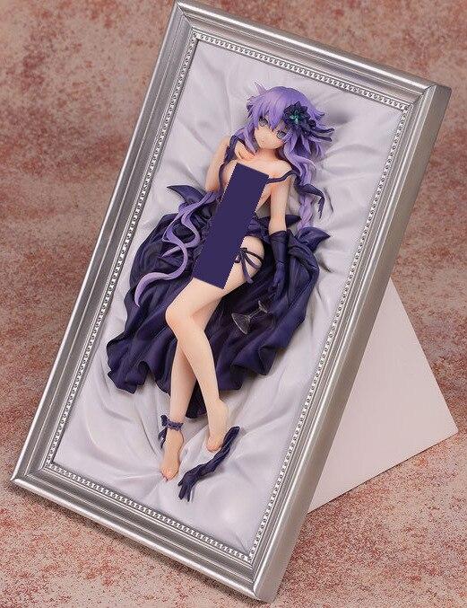 Hyperdimension Neptunia Purple Heart Sexy Anime Action Figure PVC New Collection Figures Toys
