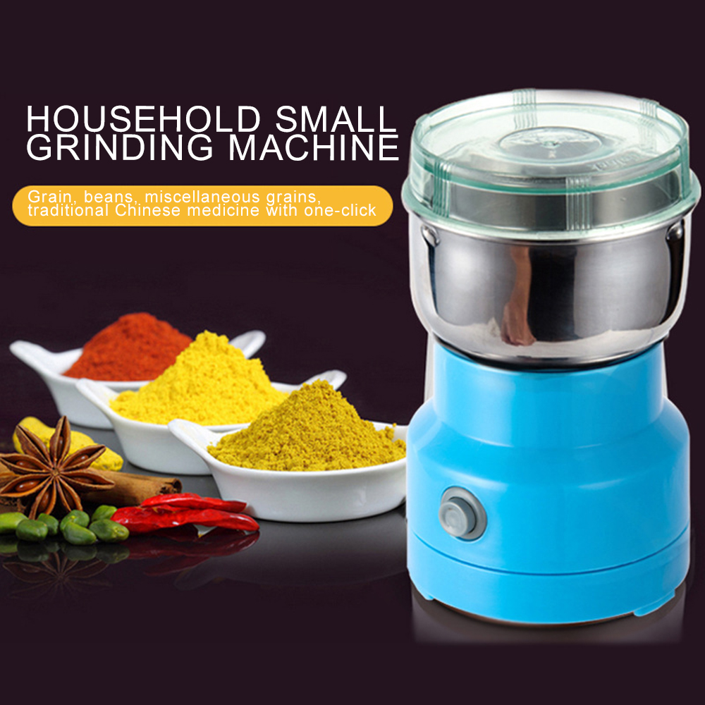Coffee Grinder Electric Mini Coffee Bean Nut Grinder Coffee Beans Multifunctional Home Coffe Machine Kitchen Tool Electric Coffee Grinders  - AliExpress