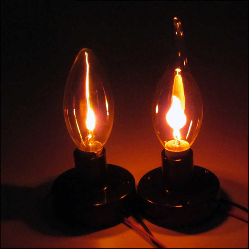 E27 / E14 bombilla LED Edison Retro Industrial Vintage, lámpara de decoración del hogar, Bombilla incandescente de filamento de 3W, Bombilla de ampolla, decoración del hogar