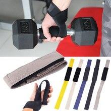 1 шт. ремень для тяжелой атлетики, анти-скольжение, поддержка запястья, пояс для фитнеса, жесткая тяга, подъемные ремни, браслет для тяжелой атлетики, напульсники