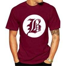 Camiseta 2021 algodão do logotipo dos homens de beartooth b xx-camisa preta grande da rua