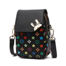 Summer Crossbody Mobile Phone Bag for Women Phone Pocket Genuine Leather Handbags Shoulder Bag Woman Small Bags(China)