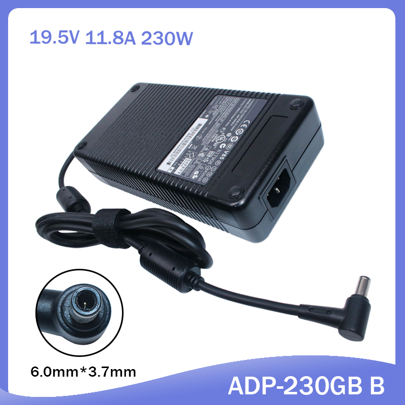 230W 19.5V 11.8A For Asus ROG Zephyrus GX501VS GX501VI GL702VS GL702ZC GL702V Gaming ADP-230GB AC Adapter Laptop Charger