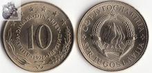 Yugoslavia 10 Dinar Coin Europe New Original Coins Unc Commemorative Edition 100% Real Rare Eu Random Year недорого