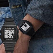 SYNOKE мужские часы, мужские часы, модные спортивные водонепроницаемые светодиодный цифровые наручные часы, мужские электронные военные часы с будильником