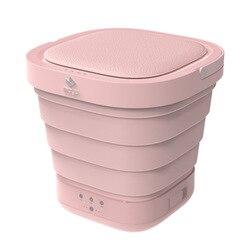 Tragbare Mini Folding Kleidung Waschmaschine Eimer Automatische Home Reise Selbst-fahren Tour Unterwäsche Faltbare Waschmaschine und Trockner