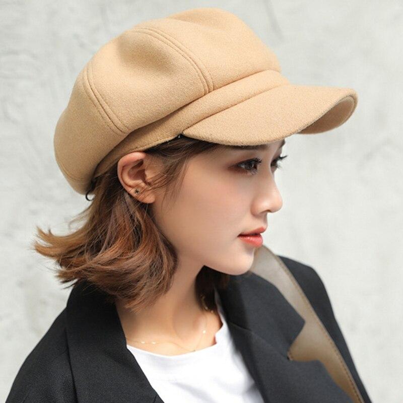 Chapeau De Laine Hiver Béret Femmes