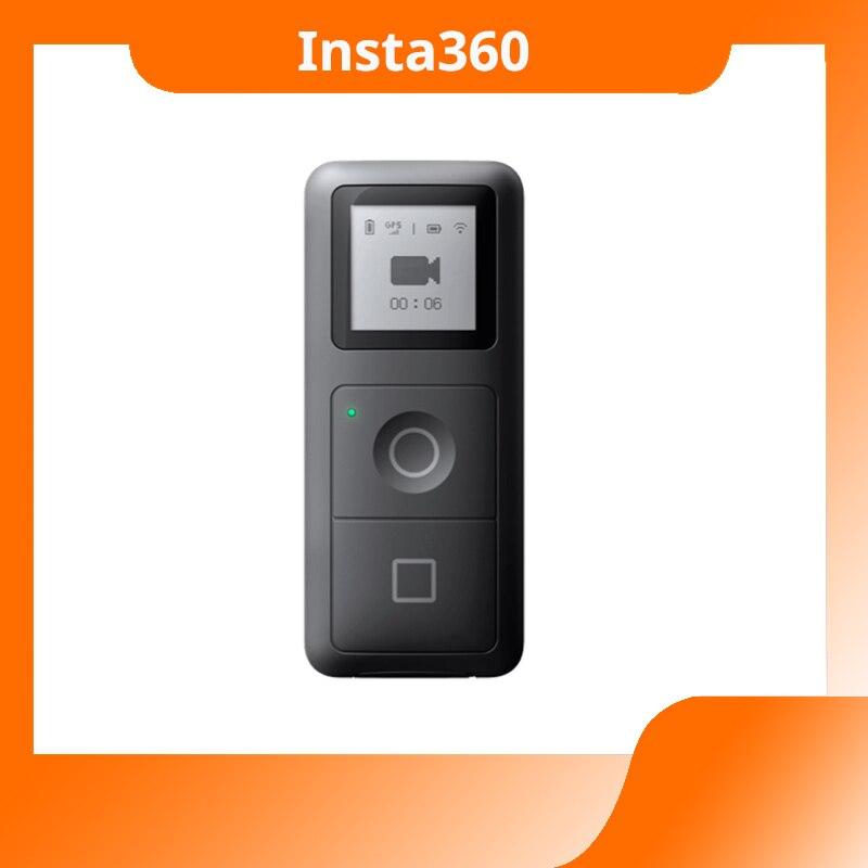В наличии Insta360 ONE X GPS интеллектуальный пульт дистанционного управления Управление действий Камера Очки виртуальной реальности VR 360 панорам...