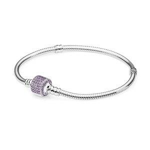 Image 5 - 100% hohe Qualität Mode Genuine Momente Gold Schnalle Armband Rose Schnalle Armband Exquisite Diy Schmuck Geschenk Für Frauen