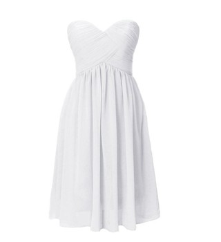 Bealegantom New Elegant White Chiffon Beach Wedding Dresses 2019 Lace Plus Size Bridal Gowns Vestido De Novia QA1144