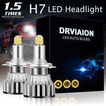 Авто светодиодный H7 18000LM 8 граней 110W 3D светодиодный фары лампы высокой Мощность 360 градусов Светодиодная лампа высокой или низкий пучок свет...