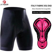 X-Tiger Women Cycling Shorts Coolmax 5D Gel Padded Mountain Bike Short Pants Superelastic Shockproof MTB Road Bicycle Shorts