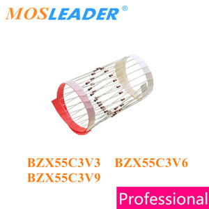 Image 1 - Mosleader 5000pcs DO35 BZX55C3V3 BZX55C3V6 BZX55C3V9 Dip in the tape without box 3.3V 3.6V 3.9V Chinese goods