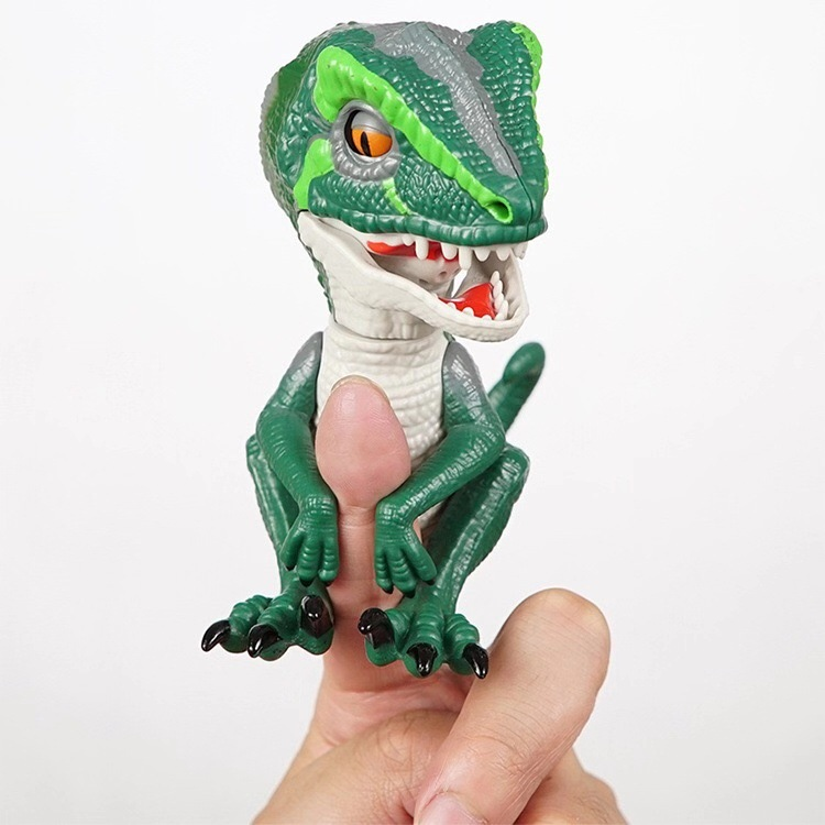 New Style Toy Dinosaur Finger Fingertip Dinosaur Cross-Border Christmas New Toy Electricity Supplier Johnson Hot Selling Sound T