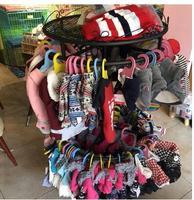 Dog hanger pet supplies landing display rack circular rotating double underwear rack