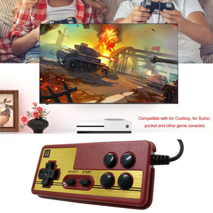 Image 5 - 1pcs 9 pin pubg controller for Gaming TV Player Gamepad Joystick with Continuous Start Function game handle