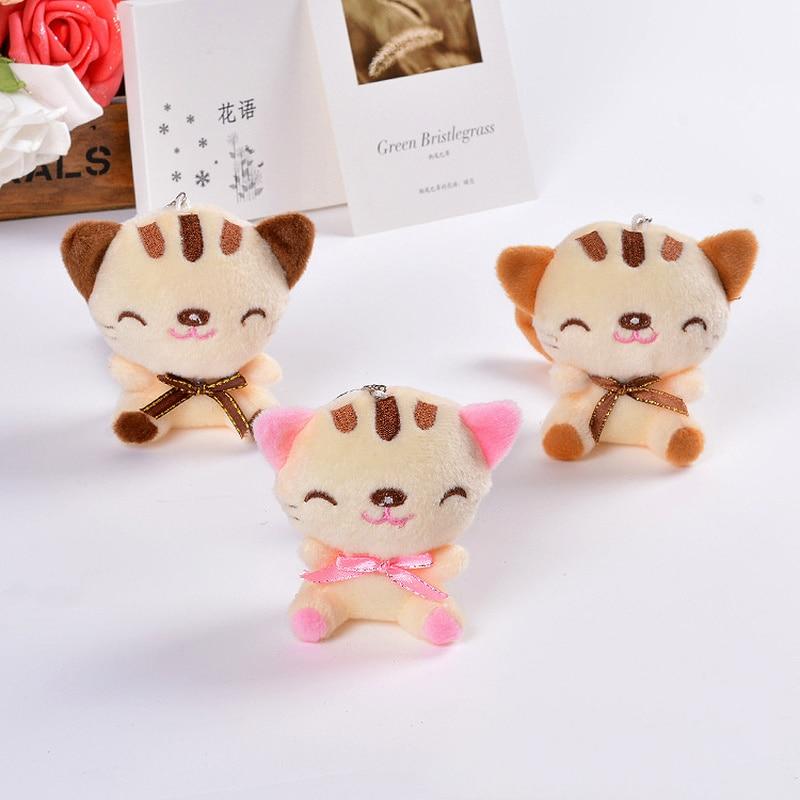 9cm Cat Plush Stuffed Animal Toys Cartoon Cute Baby Toys Stuffed Animals Plush Kid's Gift Plush Toys for Kids and Girls