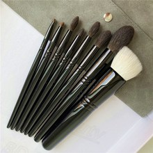 WG The Collection Makeup Brushes Set - 8-Pcs - Soft Nautral Hair Foundation Powder Cheek Eye shadow Liner Cosmetics Brushes Set
