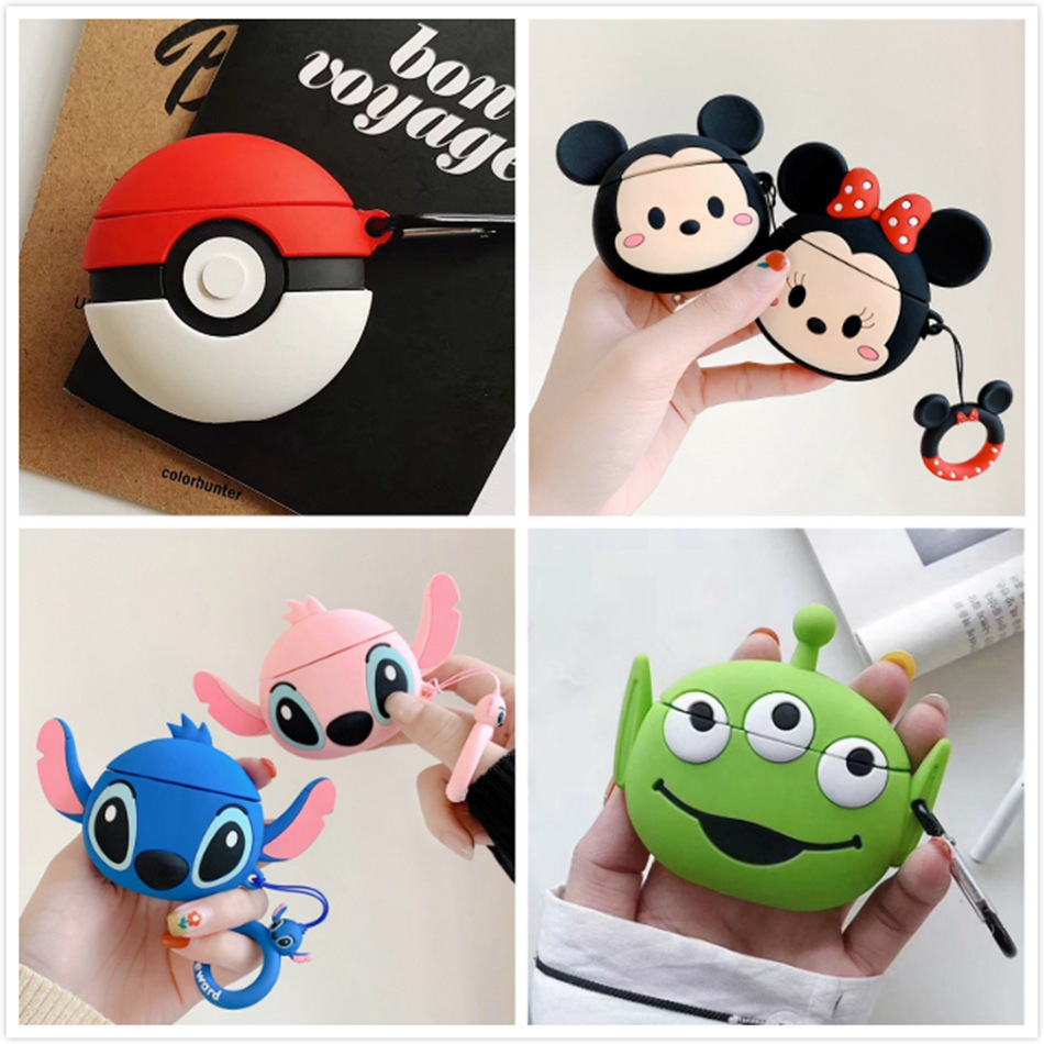 Cartoon Silicon Cases for Airpods Pro 1