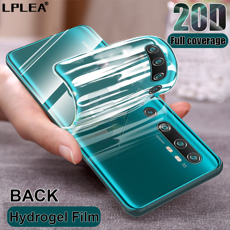 20D Hydrogel Film For Xiaomi Redmi Note 7 8 9S 9 Pro Max Screen Protector For mi 9 se 9t CC9 Pro Note 10 Lite Film Not Glass 1