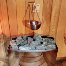 Масло для ароматерапии, чаша для сауны, чашка для сауны из нержавеющей стали, эфирное масло, чаша-держатель для сауны и спа, деревянный материал