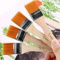 Кисть для окрашивания волос Акриловая Краска s 4 шт./компл. Акварельная краска для рисования нейлоновая масляная кисть деревянные ручки
