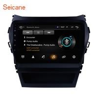 Seicane Head Unit GPS Car Radio For 2013 2014 2015 2016 2017 Hyundai IX45 SantaFe 9 Inch Android 8.1 2Din support Backup camera