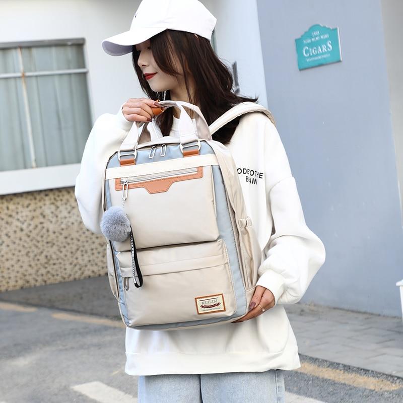 2019 New Fashion Cute Backpack Girls For Middle School Students Travel Shoulder Backpacks Kids Children Schoolbags Women Bag