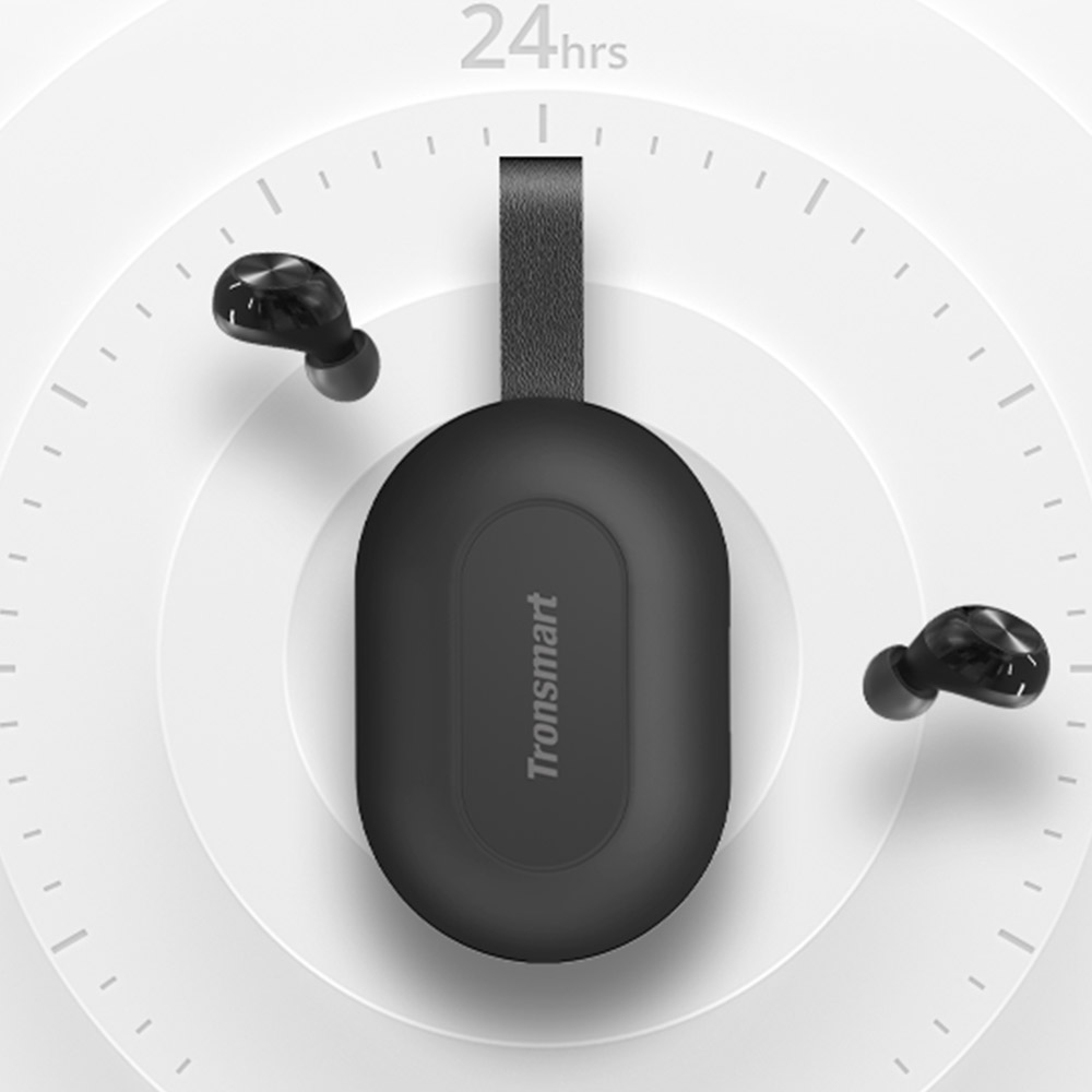 Tronsmart Spunky Beat TWS Bluetooth Earphone QualcommChip Tech APTX Wireless Earbuds with CVC 8 0 Voice Assistant 24H Playtime