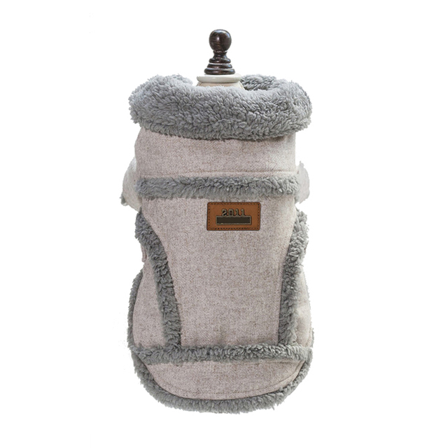 Clothes For Small Dogs Autumn Winter Warm Puppy Pet Dog Coat Jacket Soft Fleece Chihuahua Pug French Bulldog Clothing