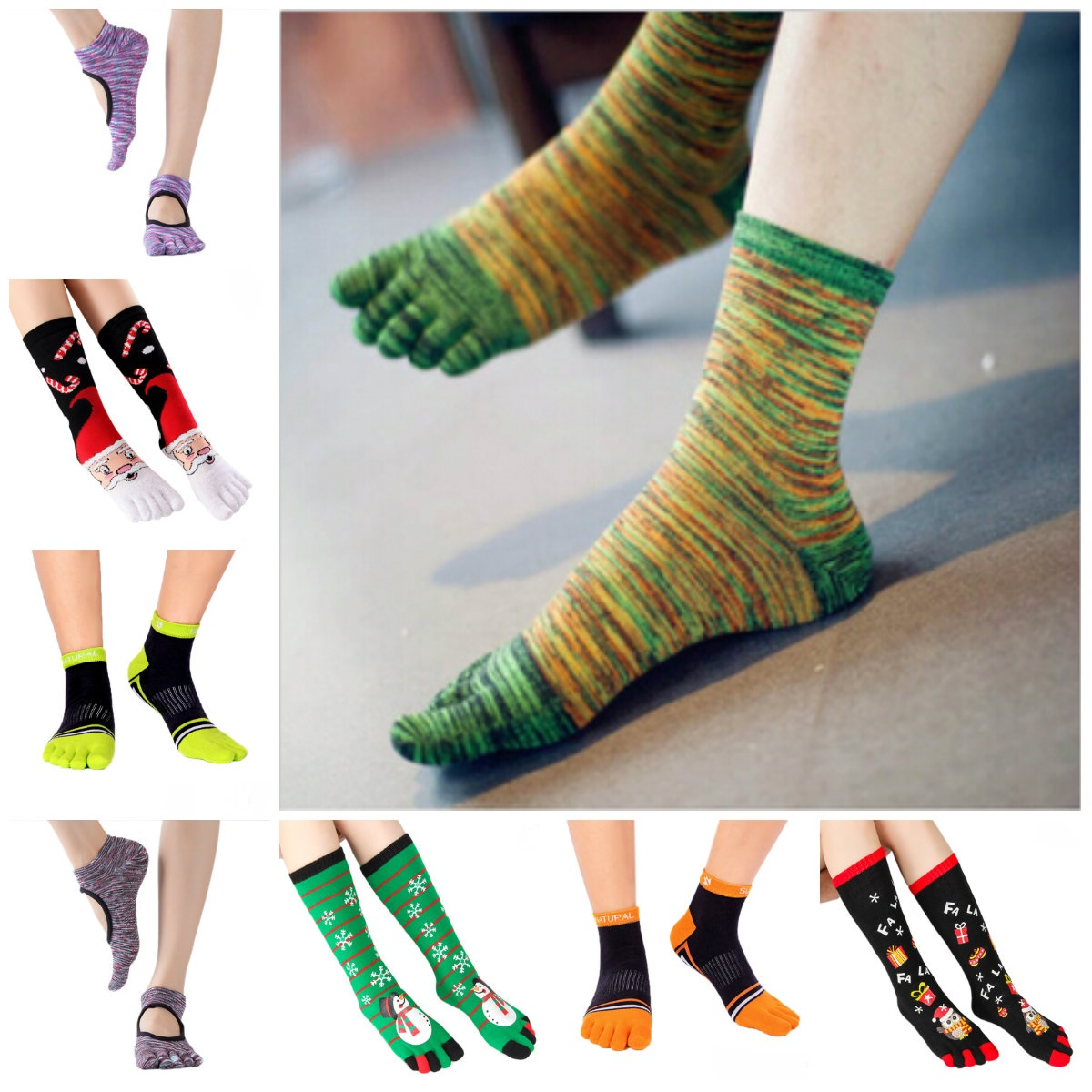 Women High Ankle Cotton Crew Socks Happy New Year Image Casual Sport Stocking