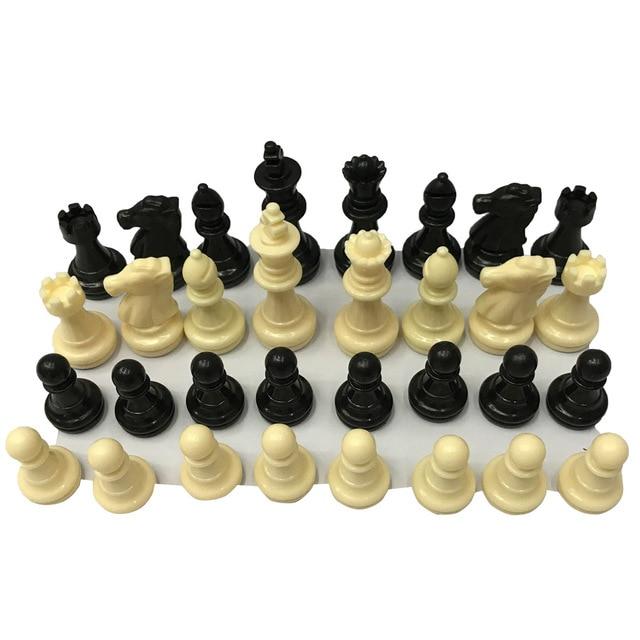 Set de pions d'échec - 32 pièces 6.4cm 2