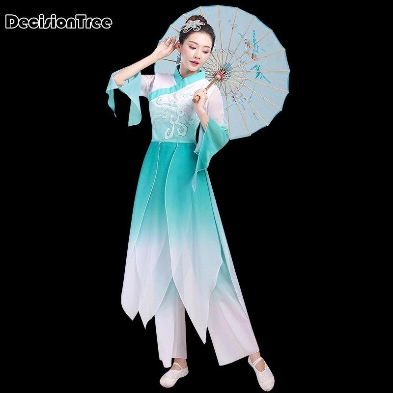 2020 Chinese Traditional Fairy Hanfu Dress Women Ancient Crane Princess Han Dynasty Palace Dance Folk Costume Year National