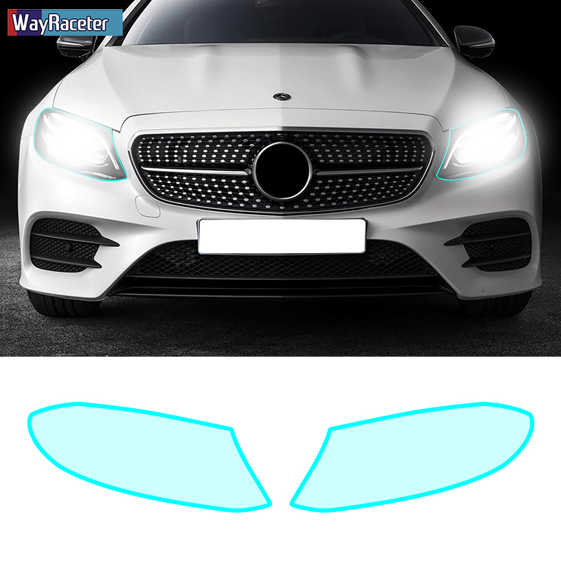 Car Headlight Protective Film Restoration Taillight Insivible Self Healing Sticker For <font><b>Mercedes</b></font> <font><b>Benz</b></font> E Class <font><b>W213</b></font> <font><b>Accessories</b></font> image
