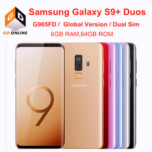 Samsung Galaxy S9 + S9 Plus G965FD Dual Sim 6GB RAM 64GB ROM Globale Version Octa Core 6.2