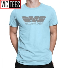 Aliens Weyland Yutani Company Corp Prometheus Tshirt for Men