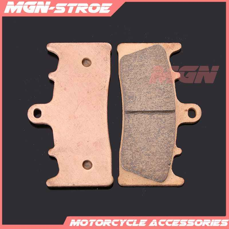 Motorcycle metal sintering brake pads For ZX-6R ZX6R ZX636 ZX 636 1998 1999 2000 2001 2002 ZX-9R ZX9R 96 97 98 99 00 01