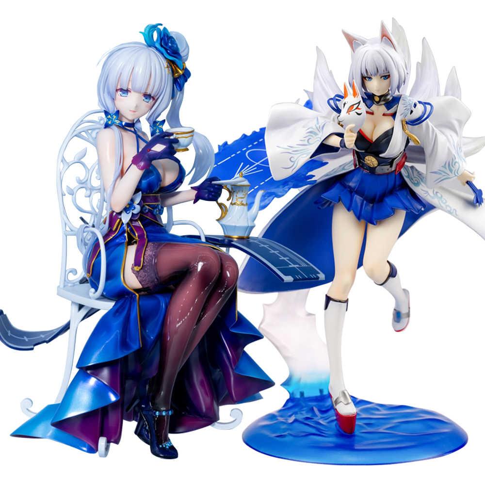Ilustrativo owaranai ochakai jogo azur lane akagi meninas sexy figura de ação anime japonês pvc figuras de ação adulto brinquedo anime