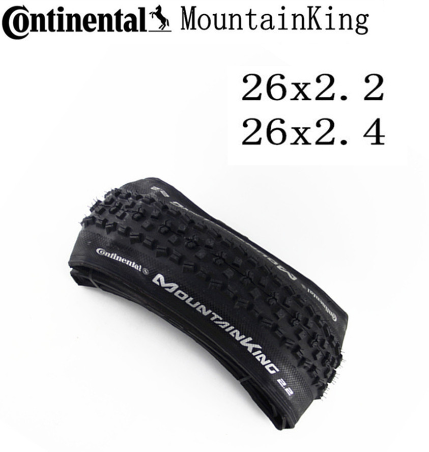 Continental Tyre Mountain King Tire MTB Mountain bicycle <font><b>26x2.2</b></font> 26x2.4 Tubular Tire MTB Folding Tyre image