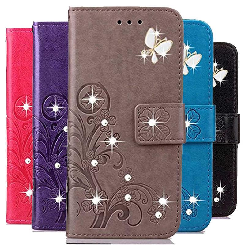 3D çiçek deri kılıf HTC Desire 10 Pro için 510 610 820g 816 800 516 316 VC T328D 526 326 cüzdan telefon kapak