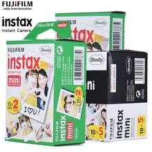 Fujifilm Instax Mini-Papel de película para cámara, 10-100 hojas para Fujifilm Instax Mini 7s 8 25 90 9 Instax Mini 8 9 película con álbum de fotos