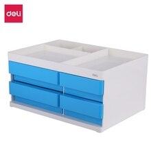 Multi-function Desktop Pen Holder Stationery Storage Box Office Accessories School Storage Case Plastic Pen Box Desk Organizer