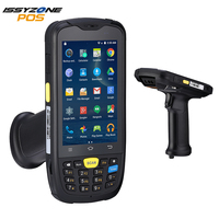 IssyzonePOS Android Pos Terminal Rugged PDA 1D Barcode Wireless Scanner 4G WiFi Bluetooth GPS Warehouse Data Collector Pistol