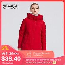MIEGOFCE 2020 חדש חורף נשים של אוסף נשים של חורף מעיל מעילי נקבה Windproof Parka עם Stand Up צווארון ומכסת מנוע